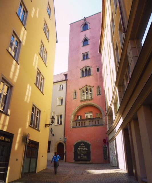 Regensburg Baumburger Turm
