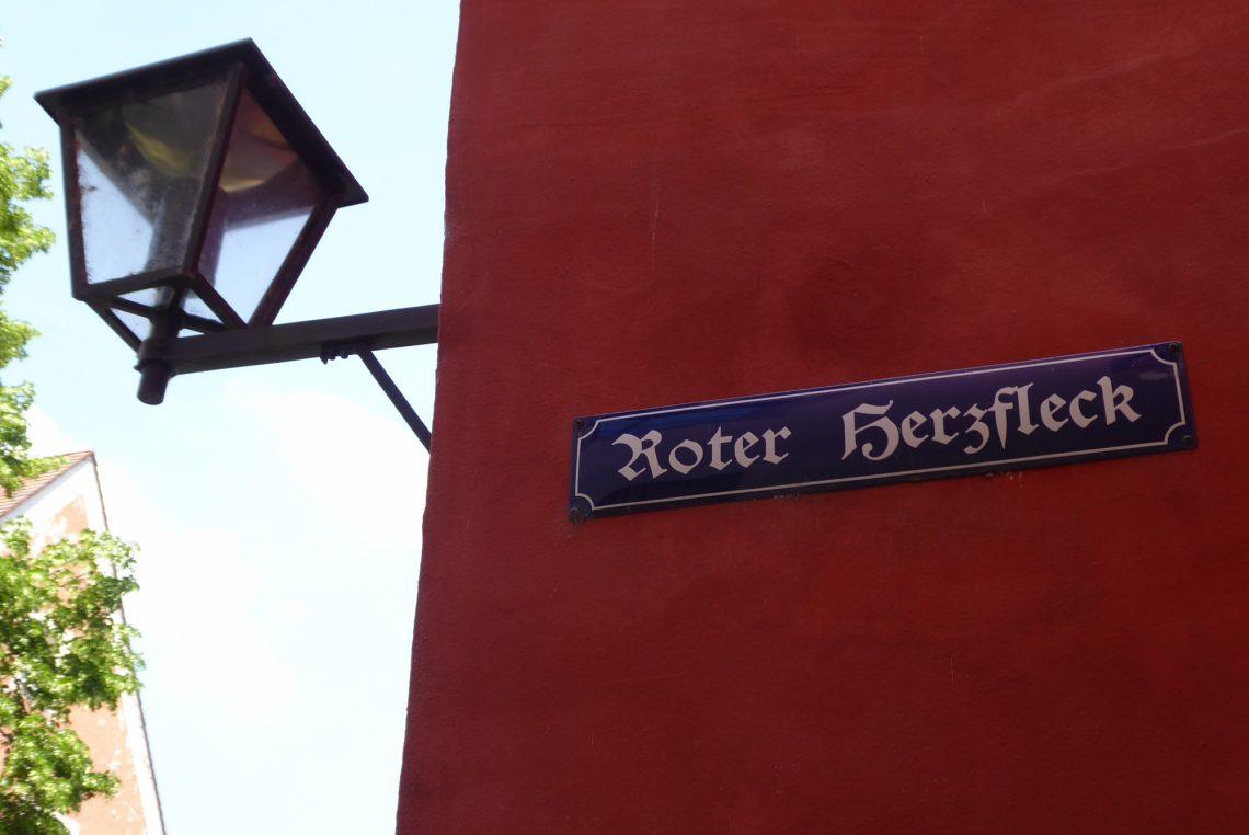 Regensburg Roter Herzfleck