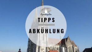 Abkühlung Regensburg