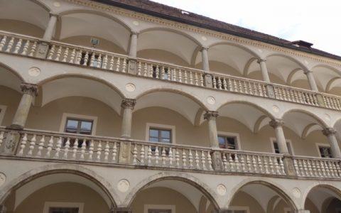 Arkaden Thon-Dittmer Palais Regensburg