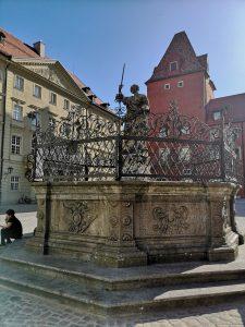 Justitiabrunnen Regensburg