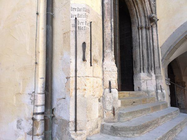 Stadtmaße Regensburg