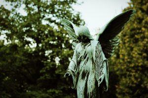 Friedhofsengel Dreifaltigkeitsberg (Foto: Christian Greller)