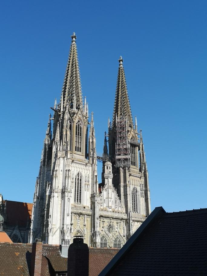 Blick vom Storstad auf Regensburg